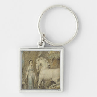 The Horse, from 'William Hayley's Ballads', c.1805 Keychain