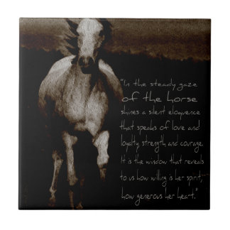 The Horse Gifts & phone cases Tile