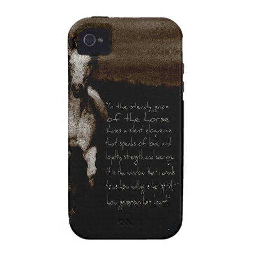 The Horse Gifts & phone cases Vibe iPhone 4 Case