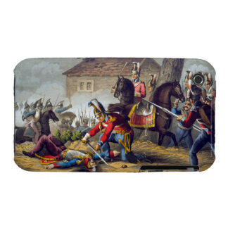 The Horse Guards at the Battle of Waterloo, engrav Case-Mate iPhone 3 Case