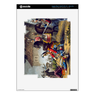 The Horse Guards at the Battle of Waterloo, engrav iPad 3 Decals