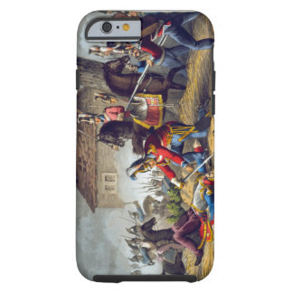 The Horse Guards at the Battle of Waterloo, engrav Tough iPhone 6 Case