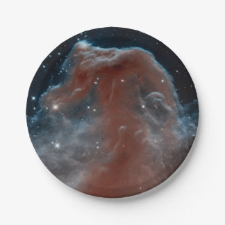 The Horse Head Nebula Paper Plate