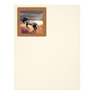 The Horse Letterhead
