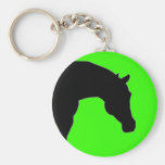 """""""The Horse"""" lime keychain"""