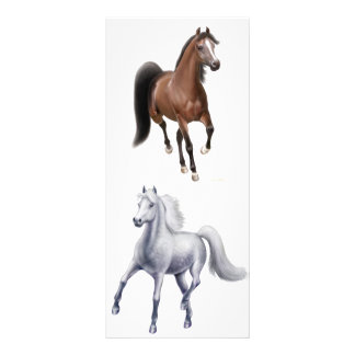 The Horse Lovers Bookmark Rack Card