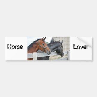 The Horse Lovers Car Bumper Sticker