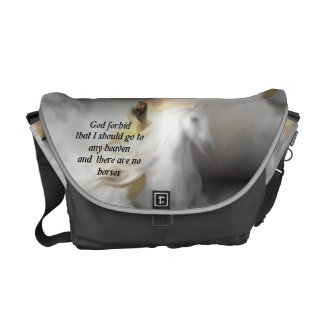 the horse lovers heavenly horse bag commuter bags