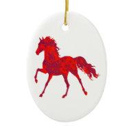THE HORSE MOVEMENT ORNAMENTS