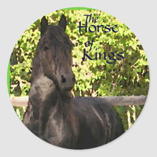 The Horse of Kings Stickers