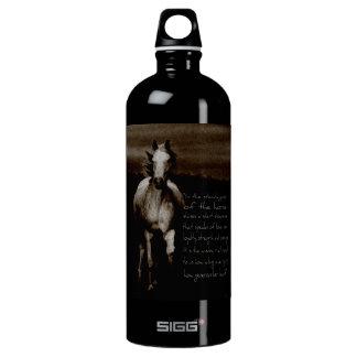 The Horse & phone cases Aluminum Water Bottle