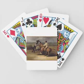 The Horse Race by Theodore Gericault Bicycle Playing Cards