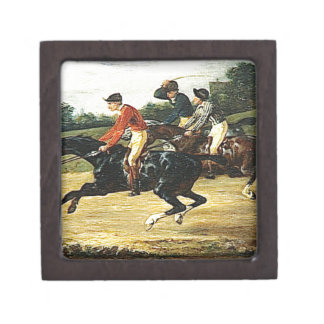 The Horse Race by Theodore Gericault Gift Box