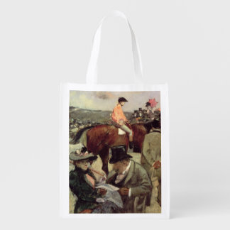 The Horse-Race, c.1890 Grocery Bag