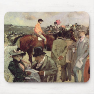 The Horse-Race, c.1890 Mouse Pad