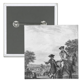 The horse race pinback button