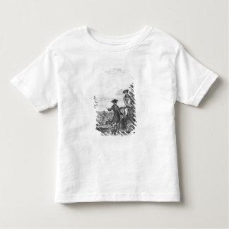 The horse race toddler t-shirt