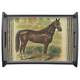 The Horse Serving Tray