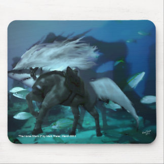 The Horse Shark 2 Mouse Pad