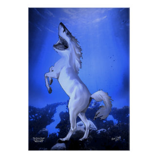 The Horse Shark Poster