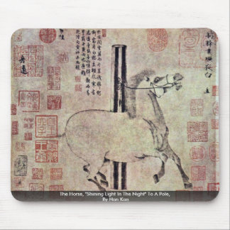 """The Horse, """"Shining Light In The Night"""" To A Pole Mousepad"""