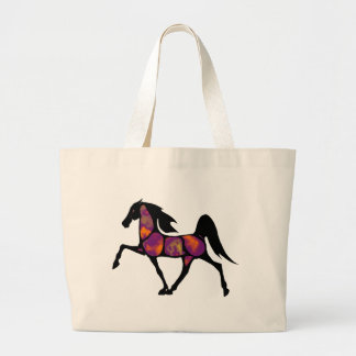 THE HORSE SUNSET LARGE TOTE BAG