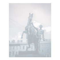 """The Horse Tamers"", St.Petersburg, Russia. Letterhead"