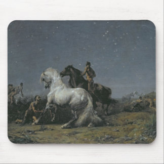 The Horse Thieves, 19th century Mouse Pad