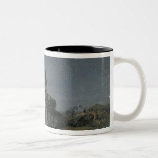 The Horse Thieves, 19th century Two-Tone Coffee Mug