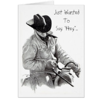 "THE HORSE TRAINER"" pencil art, CARD"