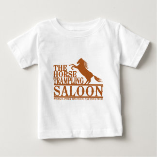 The Horse Trampling Saloon Baby T-Shirt