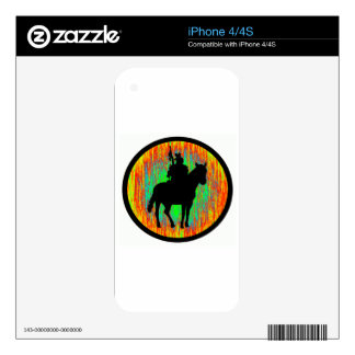 THE HORSE WARRIOR SKIN FOR THE iPhone 4S