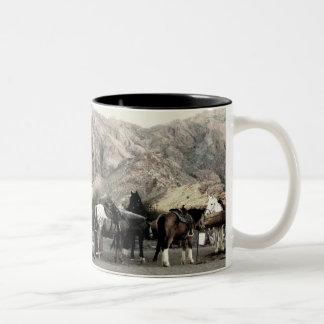 the Horses Coffee Mug