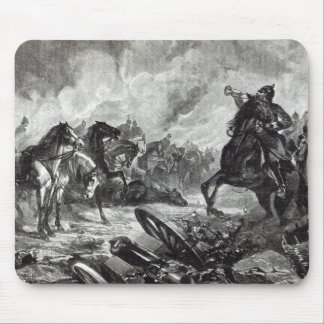 The horses of Gravelotte Mouse Pad