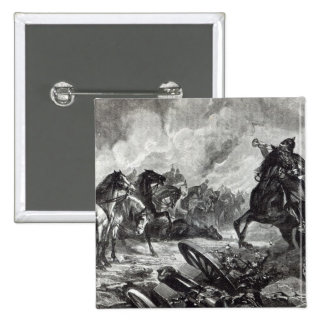 The horses of Gravelotte Pinback Button