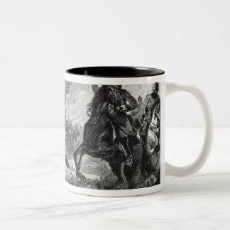 The horses of Gravelotte Two-Tone Coffee Mug