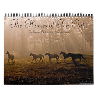 The Horses of Ten Oaks Calendar