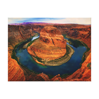 The Horseshoe Bend (Canvas) Canvas Print
