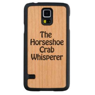 the horseshoe crab whisperer carved cherry galaxy s5 slim case