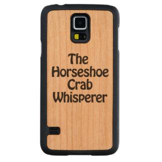 the horseshoe crab whisperer carved® cherry galaxy s5 slim case