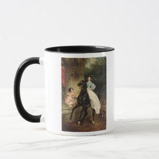 The Horsewoman, Portrait of Giovanina Mug