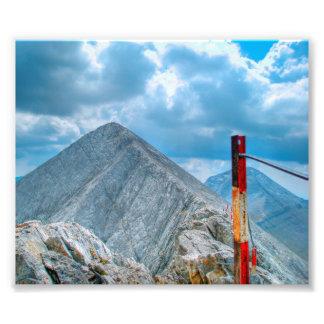 """The Horsie"" mountain path Photo Print"