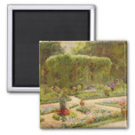The Horticulturalist's Garden 2 Inch Square Magnet