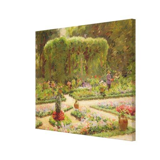 The Horticulturalist's Garden Canvas Print