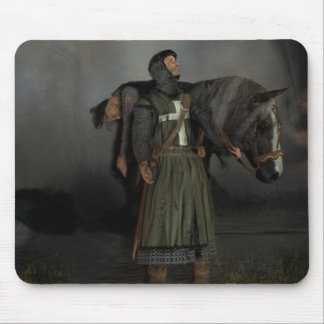 The hospitaller knight mouse pad