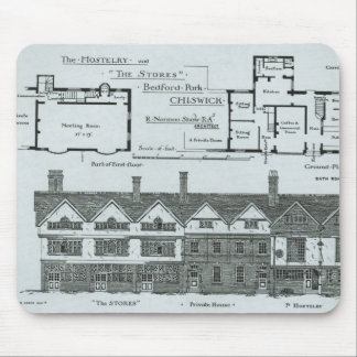 The Hostelry and The Stores Mouse Pad