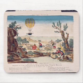 The Hot-Air Balloon of Jean Pierre Blanchard Mouse Pad
