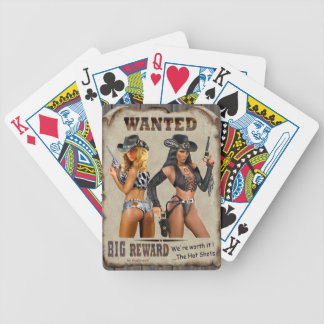 The Hot Shots Bicycle Playing Cards