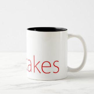 The Hotcakes text logo Two-Tone Coffee Mug