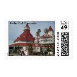 The Hotel Del Coronado Postage Stamp
